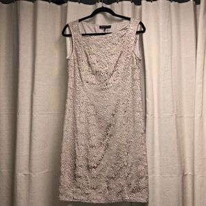 Tan lace Jones New York dress, size 10